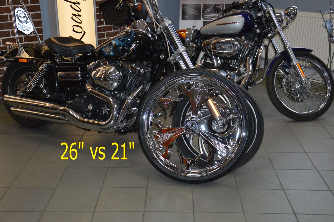 Koło felga motocyklowa customowa 26 cali