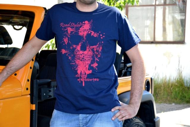 Koszulka męska – scary malina