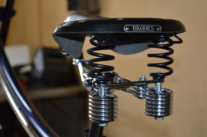Rower FAT-Bro siodło Brooks