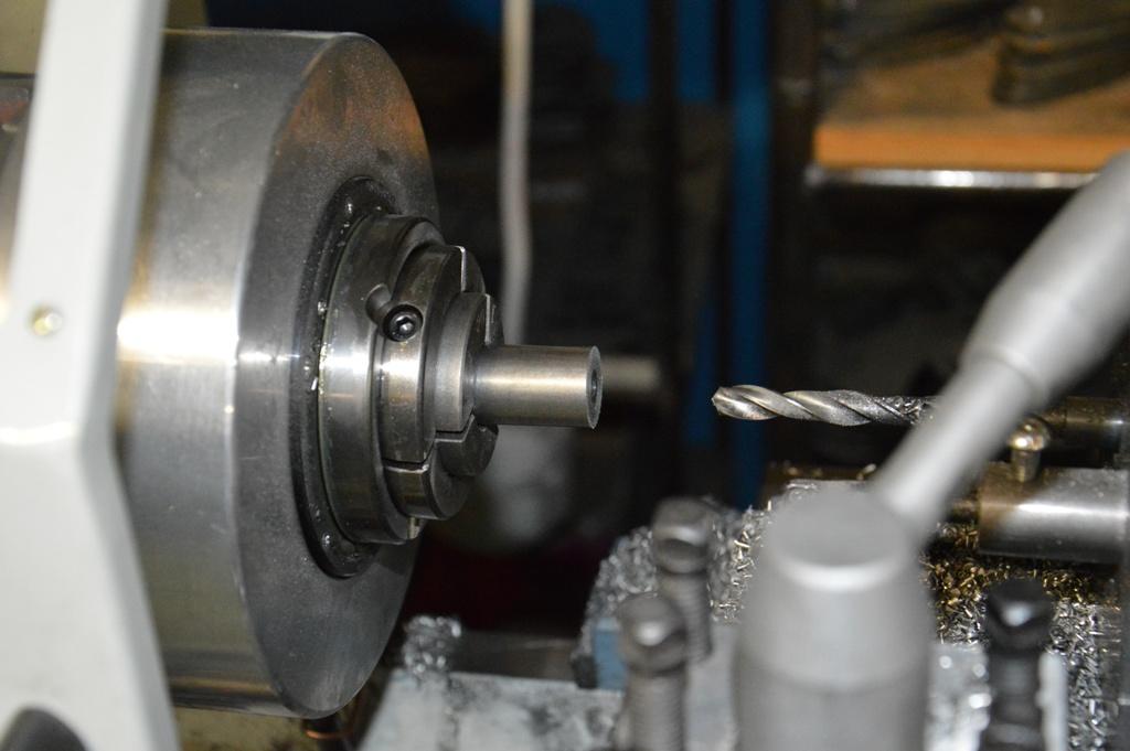 Tokarka CNC uchwyt pneumatyczny