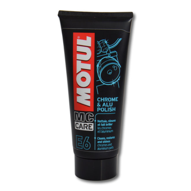 MOTUL E6 Chrome and Alu Polish