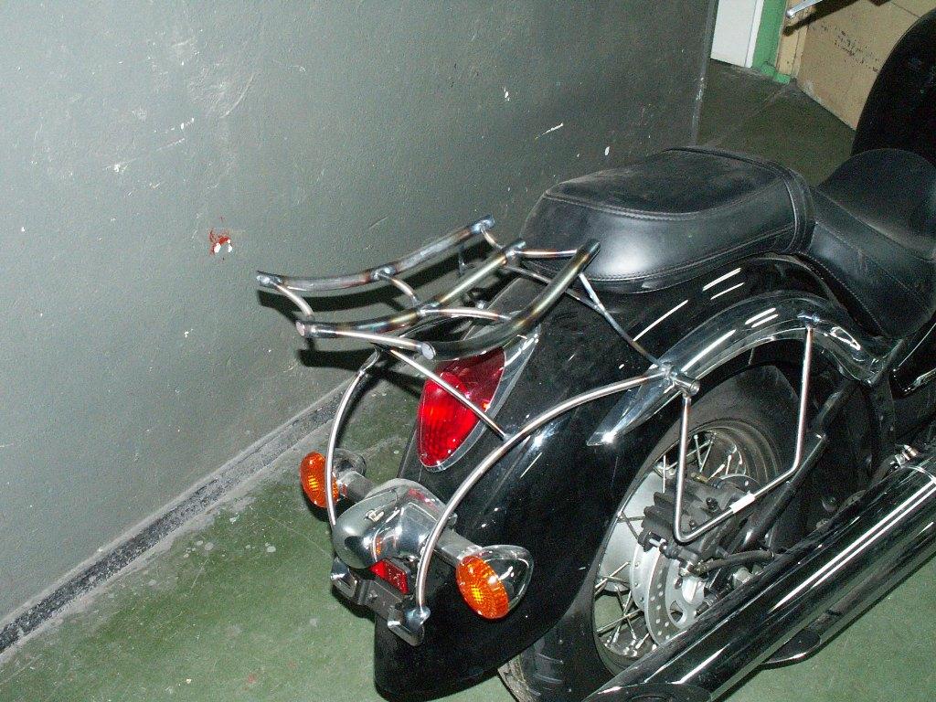 Bagażnik Kawasaki VN900