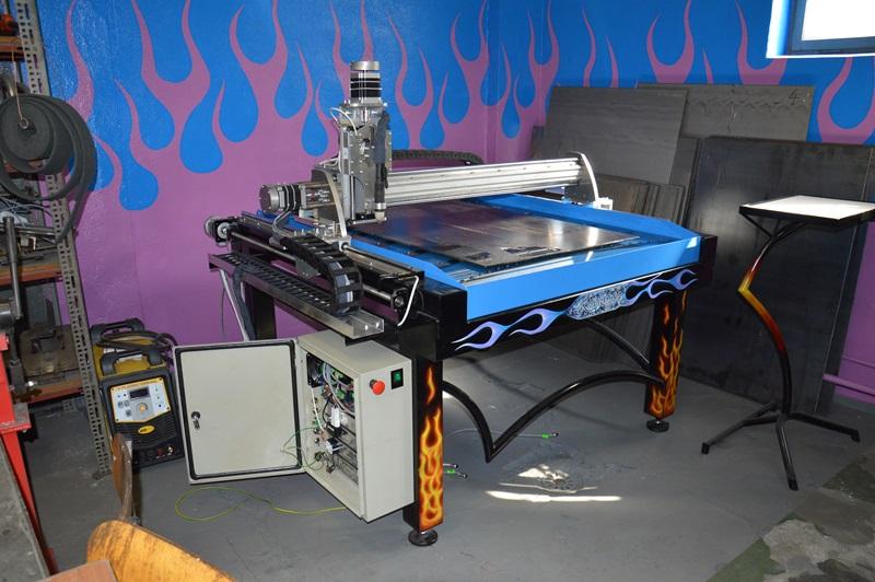 Plazma CNC mały stół