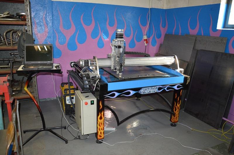 Plazma CNC RoadStyler 1000x1000