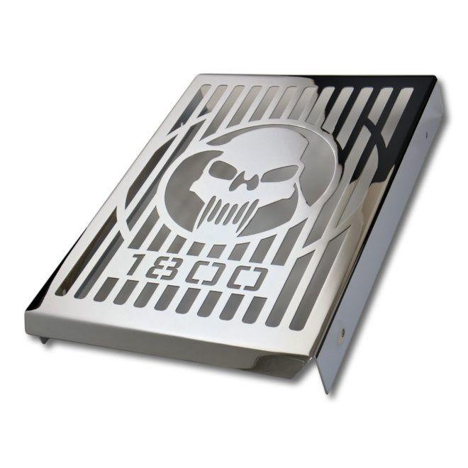 Radiator Cover for SUZUKI C1800 – skull