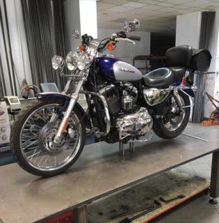 Przebudowa motocykla