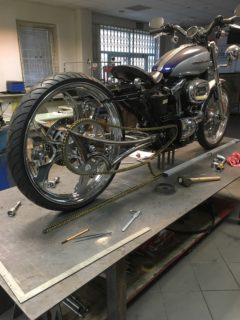 Harley Sportster zębatka 60T