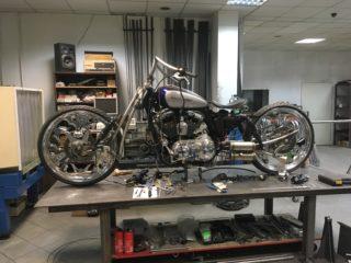 Harley Custom budowanie motocykli