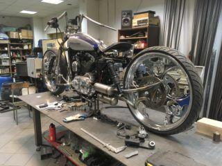 Harley przebudowa Sportster XL1200