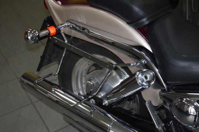 Stelaże pod sakwy z podporą SUZUKI VZ800