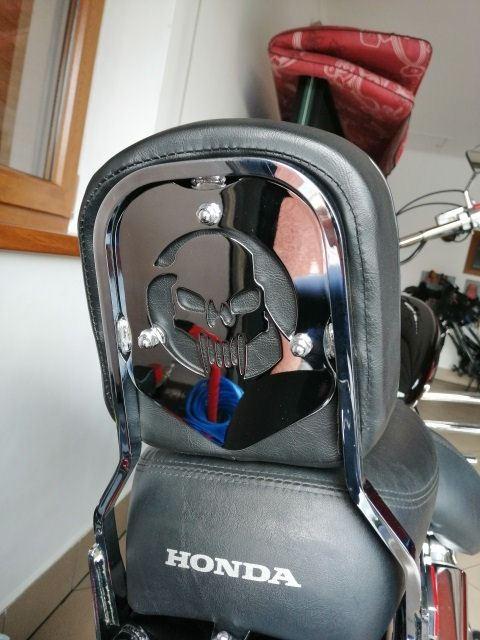 Back plate for original backrest HONDA VT1100 Spirit