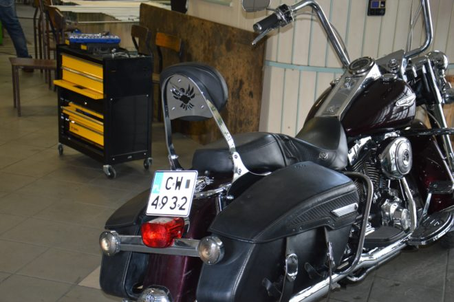 Passenger Backrest for H-D Street Glide and Road King 1997-2008
