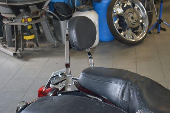 Passenger Backrest for H-D Street Glide and Road King 1997-2008