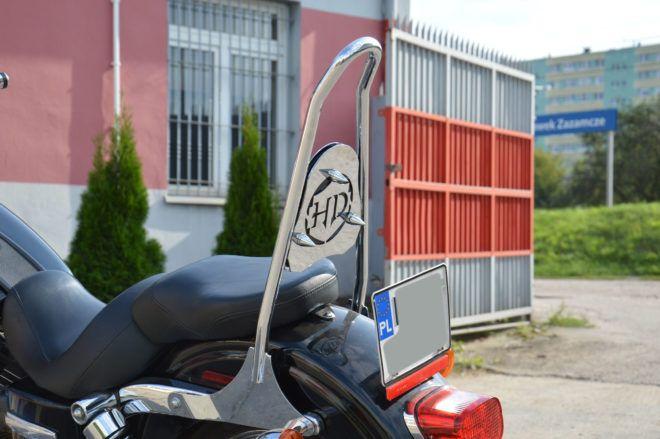 High backrest – Harley Dyna 2006-2017