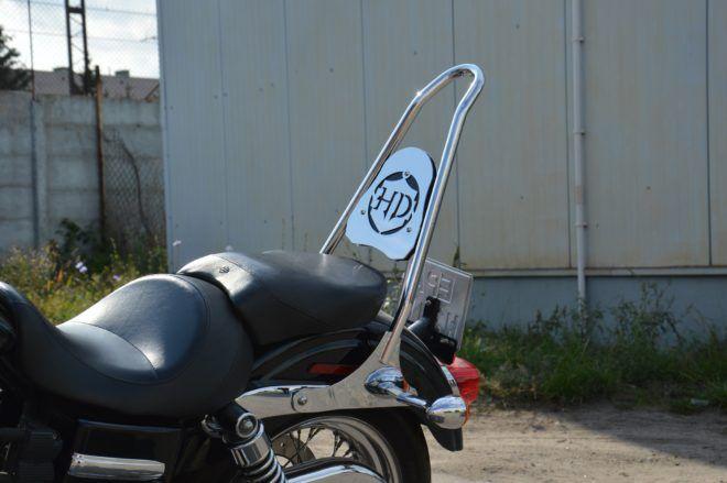 Oparcie wysokie do Harley Dyna 2006-2017