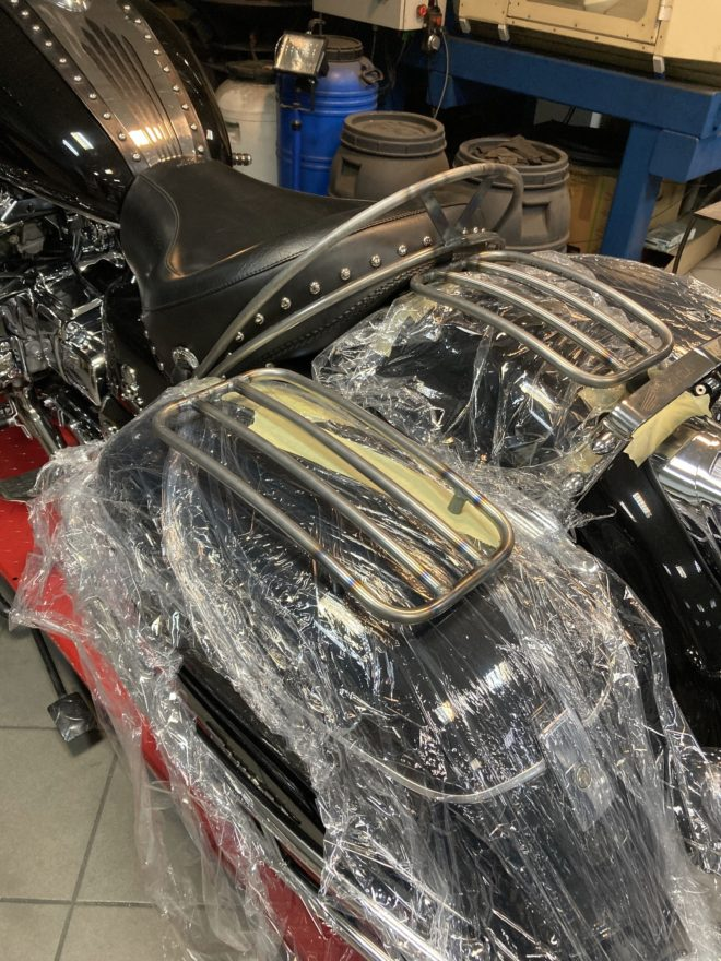 Luggage Rack for saddlebags HONDA Valkyrie F6C