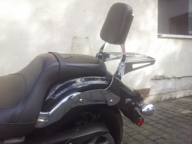 Passenger Backrest for YAMAHA  Stryker 1300 (XVS1300 Custom)