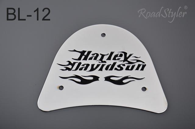 Big backrest back plate – Harley BL-12