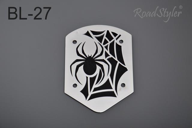 Blacha tylna do oparcia, mała – pająk BL-27