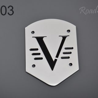 Small backrest back plate – V, BL-03