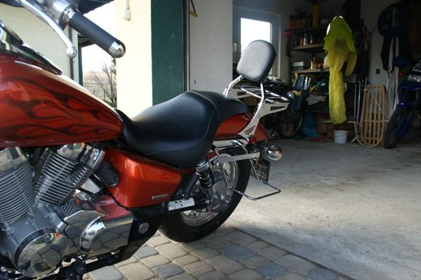 Oparcie pasażera HONDA VT750 Spirit 2007