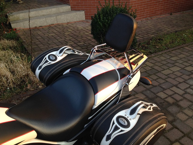Passenger Backrest for VICTORY Hammer Sport
