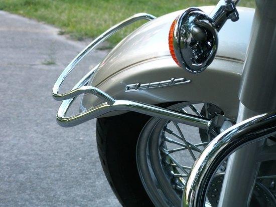 Front Fender Trim Rail YAMAHA Drag Star Classic