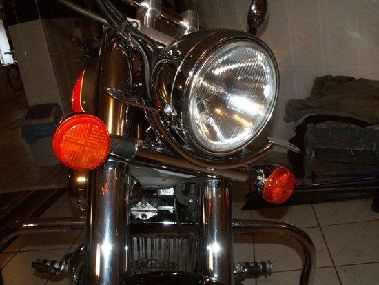 Lightbar + lamps HONDA Shadow VT750 C2
