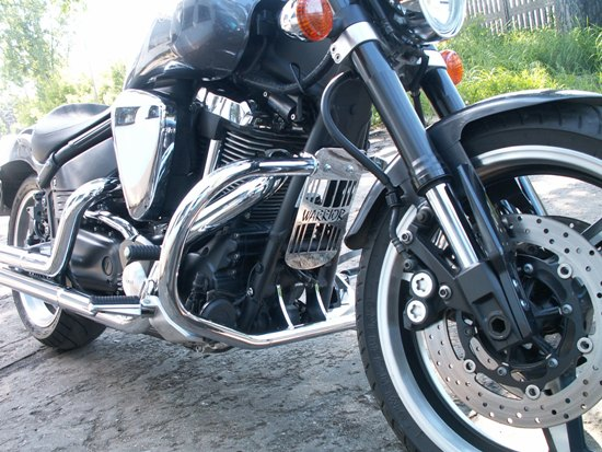Front Engine Guards YAMAHA Warrior 1700