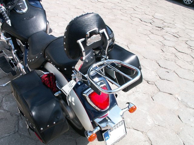 Bagażnik do oryginalnego oparcia SUZUKI C1800
