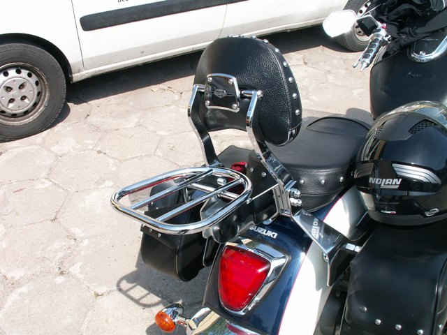 Luggage Rack for original backrest SUZUKI C1800