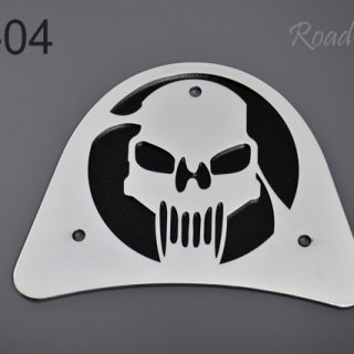 Big backrest back plate – skull BL-04
