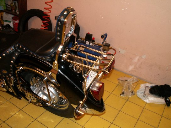 Luggage Rack YAMAHA Drag Star 1100 Classic