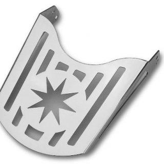 Bagażnik z blachy – gwiazda