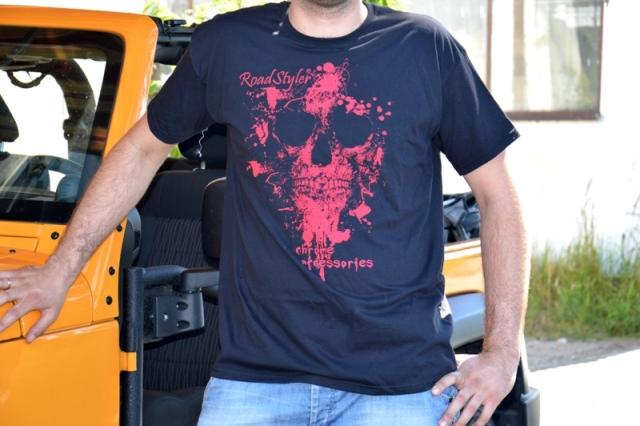 Men's T-shirt – scary raspberry