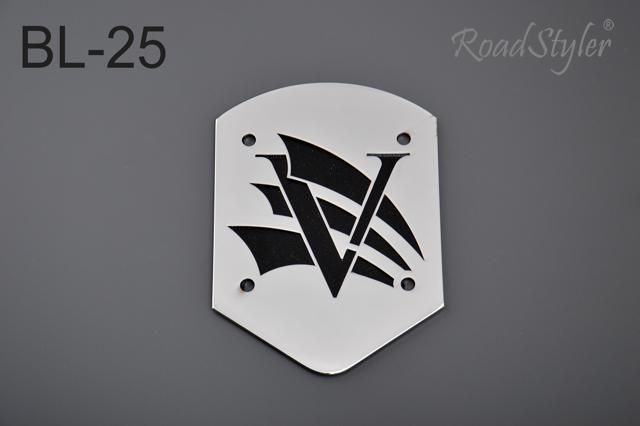 Small backrest back plate – V, BL-25