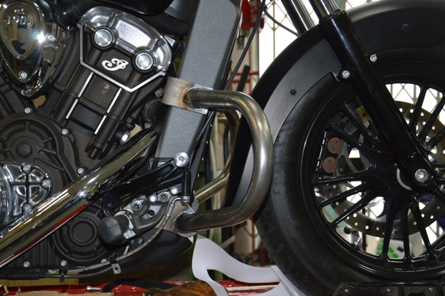 Front Engine Guards INDIAN Scout