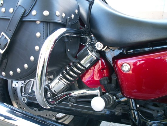 Back Engine Guards HONDA VT1100 Sabre SC43