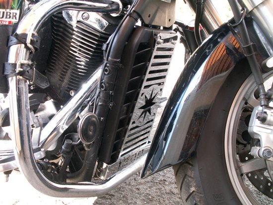 Radiator Cover for YAMAHA Midnight Star 1300