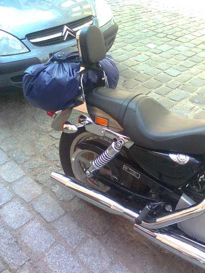 Passenger Backrest for H-D Sportster 2004-