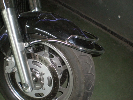 Front Fender Trim Rail KAWASAKI VN2000