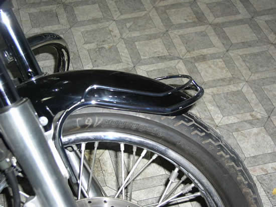Front Fender Trim Rail YAMAHA Drag Star Custom