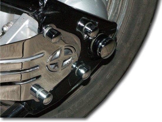 Rear Axle Bolt Cover YAMAHA Drag Star 1100