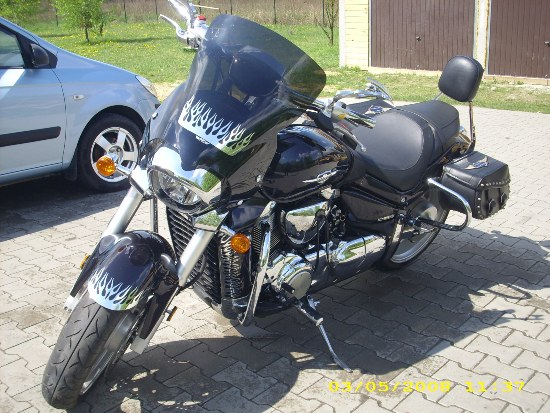 Back Engine Guards SUZUKI Intruder M1800R