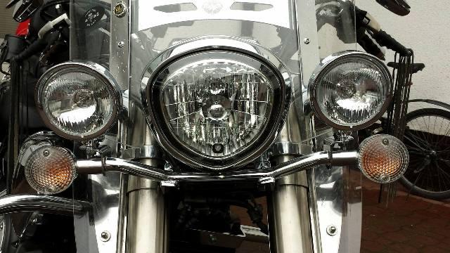 Stelaż pod lampy z uchwytem kierunków YAMAHA Midnight Star 1300