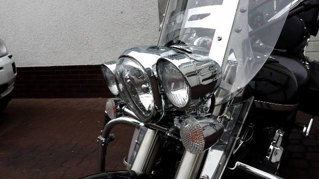 Lightbar for YAMAHA Midnight Star 1300 with turnsignal mounts