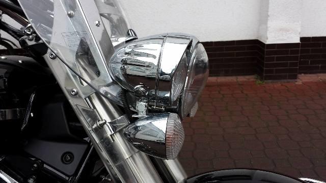Stelaż + lampy – z uchwytem kierunków YAMAHA Midnight Star 1300