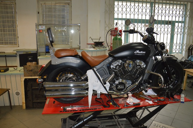 Oparcie pasażera INDIAN Scout