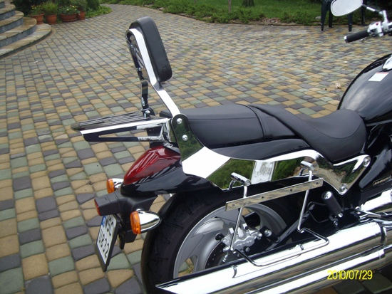 Saddlebag Support Bars for SUZUKI Intruder M1500 (big)