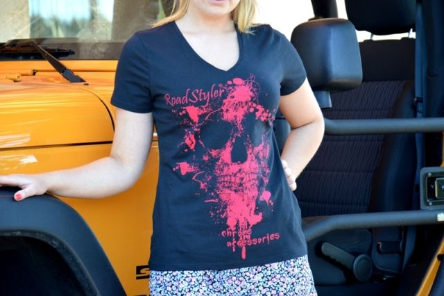 Koszulka damska – scary malina